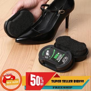 Miếng lau giày, đồ da siêu tốc hộp nhựa thumbnail
