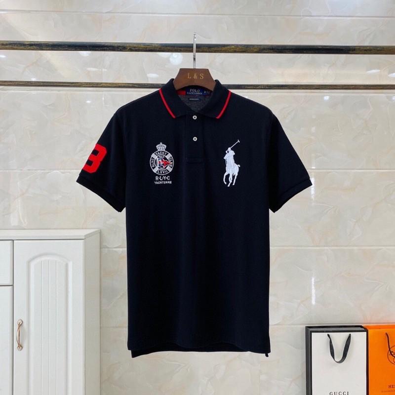 Áo thun Polo Ralph Lauren chính hãng - Áo sơ mi Polo ngắn tay cao cấp Auth new