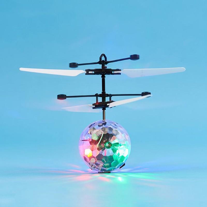 [Đồ chơi trẻ em] Bóng bay trực thăng cảm ứng có đèn Led