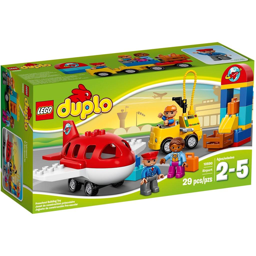 [Nhập Mã TOYFS99K7 Hoàn 20K Xu] LEGO Duplo 10590 Sân Bay (29 Chi Tiết)
