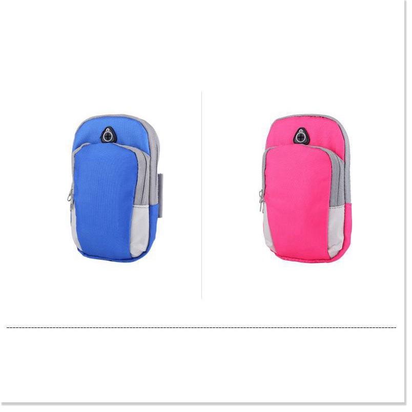 Bao đựng điện thoại đeo tay  GIÁ VỐN] Túi thể thao đựng điện thoại đeo tay có nhiều ngăn tiện dụng chống thấm 8529