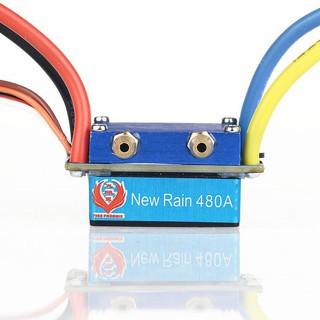 ESC 480A điều tốc 2 động cơ chuổi than tản nhiệt nước dùng được motor 775