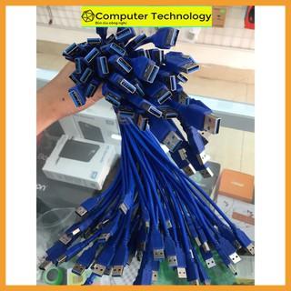 Dây Nối USB 3.0 2 Đầu Đực 60cm Truyền Tín Hiệu Lên Tới 480Mbps - HomeComputer thumbnail