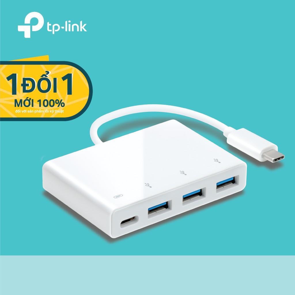 TP-Link UC430 Bộ USB-C 4 cổng tốc độ siêu nhanh và siêu nhẹ - Hãng phân phối chính thức