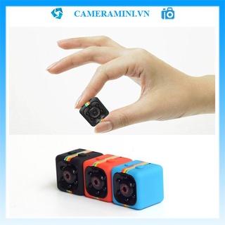 [Freeship] Camera mini SQ11 1080p siêu nhỏ không dây thể thao, hỗ trợ quay phim ghi âm, có pin, quay ban đêm