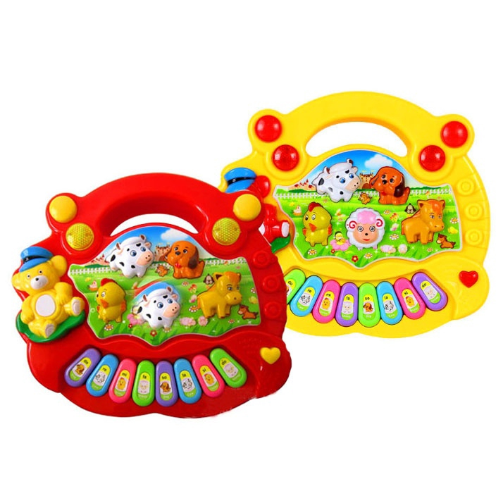 Puzzle Music Piano Toy Keyboard Enlightenment Kids Early Intellectual Toys