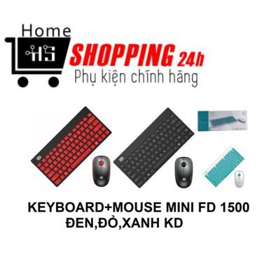 Combo Bàn Phím Chuột Không Dây FD 1500 [Homeshopping4H]
