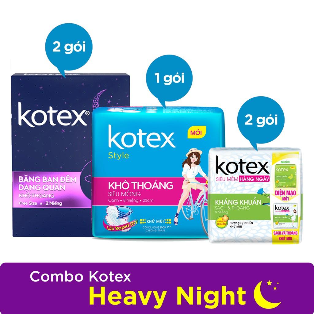 Combo 3 gói Kotex Heavy Night - 3504393 , 698955756 , 322_698955756 , 97500 , Combo-3-goi-Kotex-Heavy-Night-322_698955756 , shopee.vn , Combo 3 gói Kotex Heavy Night