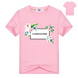 Áo phông thời trang cho bé gái Áo phông cotton cho bé gái Mùa hè trẻ em