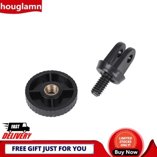 Houglamn Mini Tripod Adapter 1/4 Quick-Release For Hero 4 3 3+ Camera
