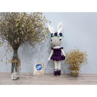 Đồ len handmade – Thỏ bale