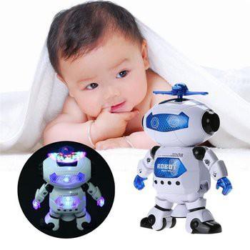 ROBOT THÔNG MINH XOAY 360 ĐỘ HY
