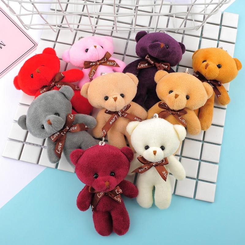Gấu bông mini cao 12cm xinh xắn đáng yêu (GB02)
