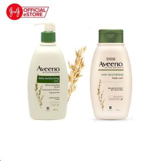 Combo Sữa tắm & Sữa dưỡng ẩm Aveeno người lớn 354ml x2 - 540018221 thumbnail