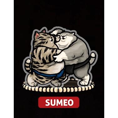 Áo thun ngắn tay không cổ nam nữ Oversize SuMEO Cute
