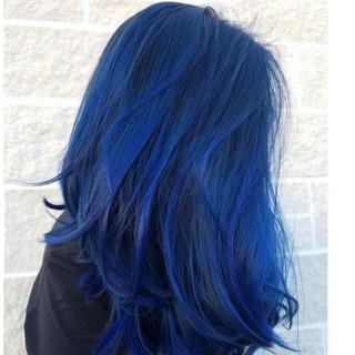 thuốc nhuộm tóc màu xanh dương+ tặng kèm oxy trợ dưỡng