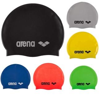Arena Mũ bơi Silicone thân thiện với môi trường thời trang trơn trơn mới không thấm nước thumbnail