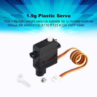 [0303] 1.9g Plastic Servo for Wltoys A600 K100 K110 K123 K124 V977 RC Helicopter