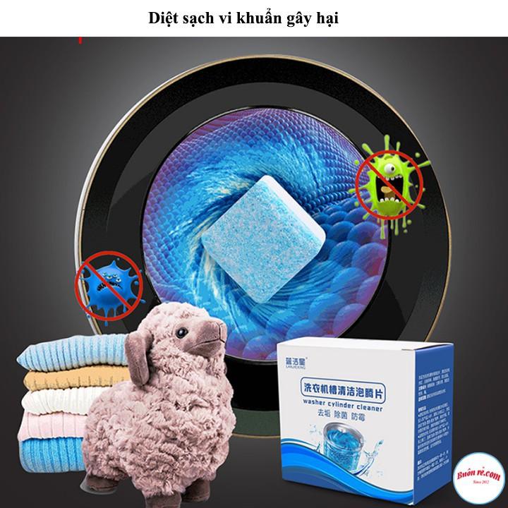 1 Viên Tẩy Vệ Sinh Lồng Máy Giặt Thế Hệ Mới Diệt Khuẩn, Khử Mùi, Tẩy Chất Cặn Hiệu Quả
