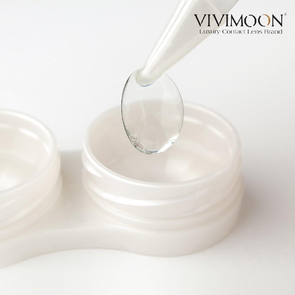 ㍿☬♨Kính Áp Tròng Trong Suốt VIVIMOON ICE CLEAR - Lens Cận Trong Suốt Chính Hãng Hàn Quốc