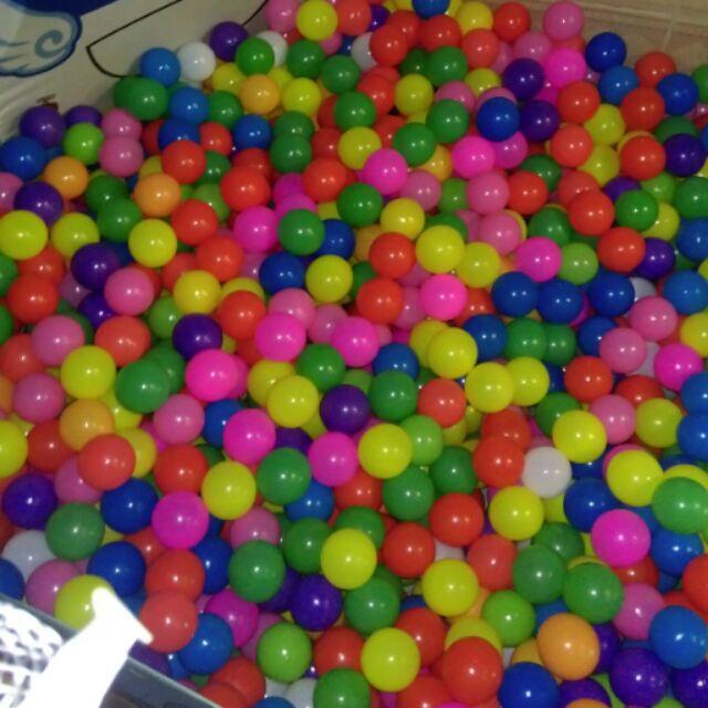 200 bóng nhựa phi 5-6
