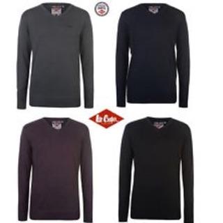 Áo len cổ chữ V Lee Cooper sale thumbnail