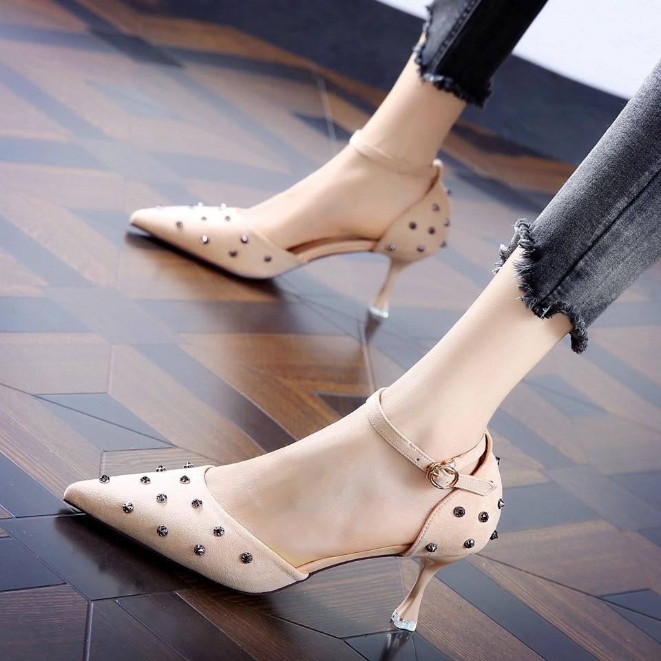 giày cao gót hàn quốc sexy - 21799376 , 2804596295 , 322_2804596295 , 758600 , giay-cao-got-han-quoc-sexy-322_2804596295 , shopee.vn , giày cao gót hàn quốc sexy