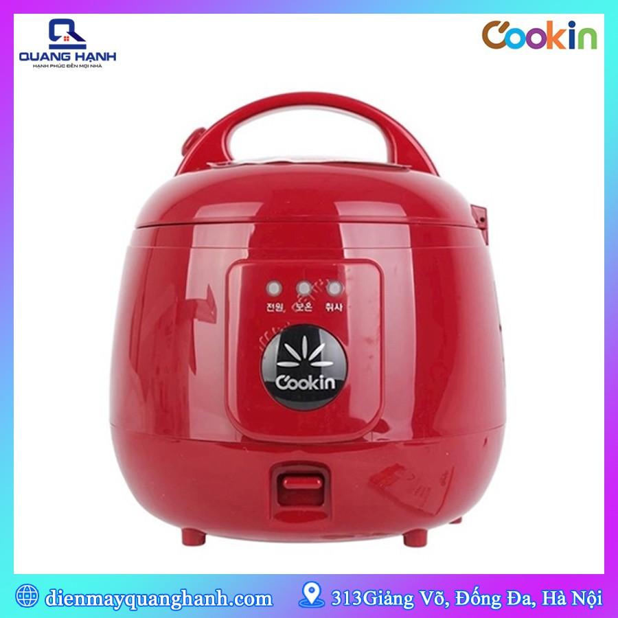 [Mã 267ELSALE hoàn 7% đơn 300K] Nồi cơm điện Cookin RM-NA10 1L (Hàn Quốc)