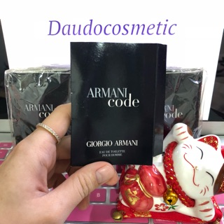 Yêu Thích[ vial ] Nước hoa Giorgio Armani Armani Code Pour Homme EDT 1.5ml