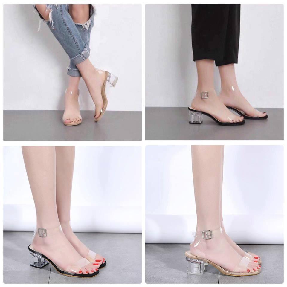 Giày cao gót 5 phân bản trong trong dây quấn LT
