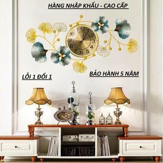 [ HÀNG MỚI ] Tranh Sắt Nghệ Thuật Decor Trang Trí Đồng Hồ Phong Cách Mới-Hàng Nhập Khẩu ( KT -50*95cm)