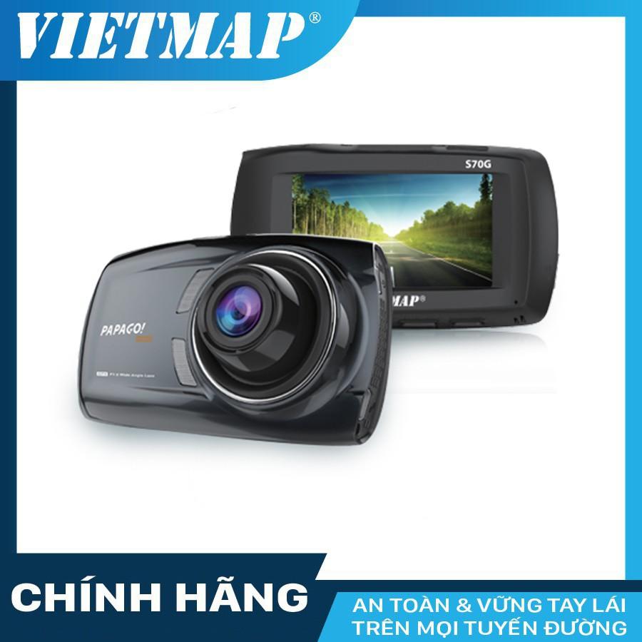 Camera hành trình VIETMAP Papago S70G thêm thẻ nhớ 32/64GB Class 10