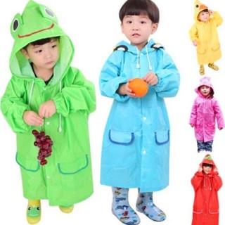 Áo mưa trẻ em xuất Nhật hình thú vui nhộn cho bé 2-7 tuổi thumbnail