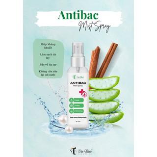 Xịt Kháng Khuẩn Antibac Mist Spray, Làm Sạch Da Tay, Dưỡng Da, Hương Quế Dễ Chịu, Xịt Mọi B thumbnail