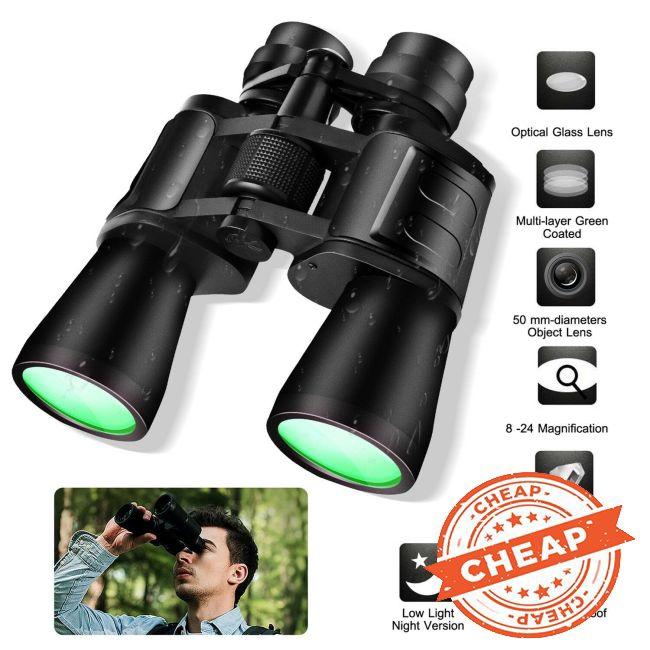 180 x 100 Zoom Day Night Vision Outdoor Travel Binoculars Hunting Telescope