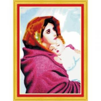 Đức Mẹ Maria Bồng Chúa (In Sẵn 100%)