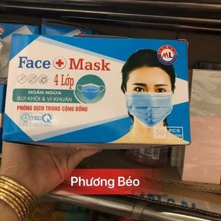 KHẨU TRANG Y TẾ Face Mask 4 Lớp