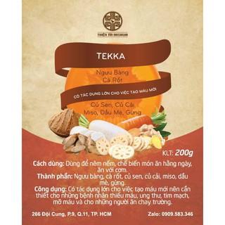 Tekka – thức ăn bổ dưỡng