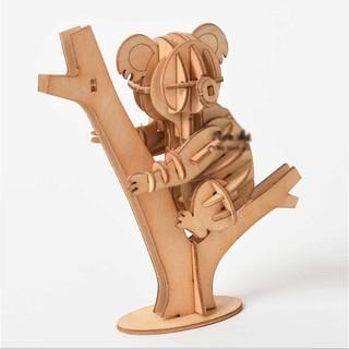 Đồ chơi lắp ráp gỗ 3D Mô hình Gấu túi Koala