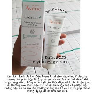 [Có Bill - 100ml] Kem làm lành sẹo, thâm và phục hồi da Avène Cicalfate+
