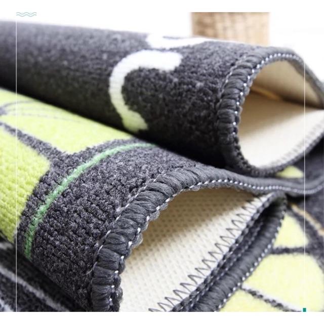 Combo Thảm bếp vải len tổng hợp hoa văn hiện đại