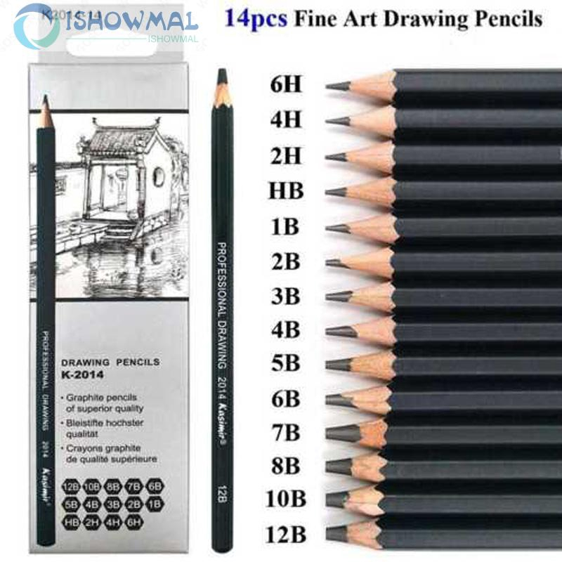 Bút chì phác thảo nghệ thuật không độc hại mới