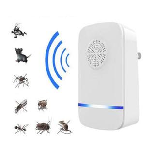 Máy đuổi chuột gián muỗi côn trùng Repeller, Máy đuổi côn trùng, Máy phát sóng siêu âm đuổi gián chuột muỗi côn trùng