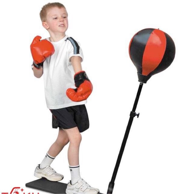 Bộ đồ tập đấm bốc boxing phản xạ chuyên nghiệp cho trẻ