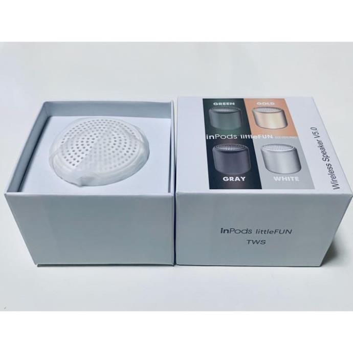 Loa Bluetooth Mini Dễ Thương 3D Little Fun V5.0 Âm Thanh Nổi Bật Nhỏ Gọn Bỏ Túi Cầm Tay