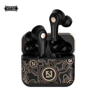 Tai Nghe Vitog Bluetooth 5.0 Tws Điều Khiển Cảm Ứng Kèm Hộp Sạc Chất Lượng Cao