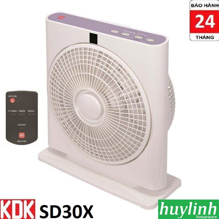 Quạt hộp KDK SD30X - Có Remote