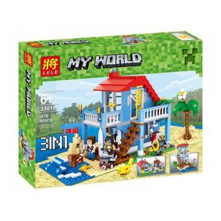 Giá Siêu Độc – Đồ chơi Lego my world 33019 – biệt thự bãi biển