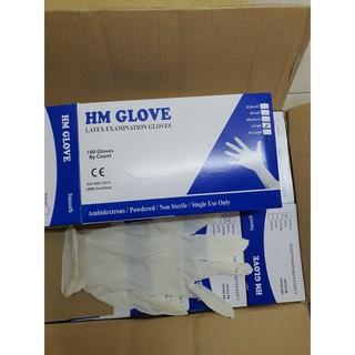 [Mã FREE SHIP EX] Combo 10 hộp găng tay y tế Latex có bột hãng HM Glove, Sglove, SuperCare,... thumbnail