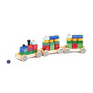 Đồ chơi gỗ Winwintoys - Xe lửa hoa văn 64272